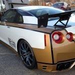 GTR Vehicle Wrap - Back