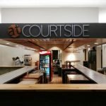 Courtside Bar Logo Interior Decorating Sign
