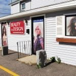 Beauty by Design Store Front Exterior Retail Sign