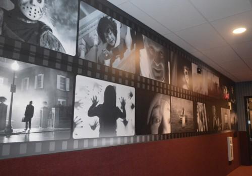 Chunky's Cinema Pub Movie Strip Left