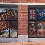 British Beer Company Window Graphics