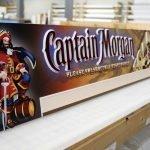 Captain Morgan Specialty Sign