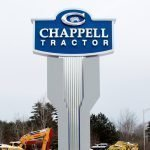 Chappell tractor LED pylon and monument signage