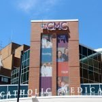 CMC Catholic Medical Center Channel Letter Sign Exterior Retail Sign