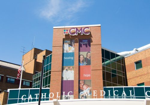 CMC Channel Letter Sign Building Front