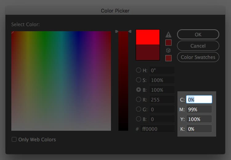 CMYK Color Space Values what is color matching