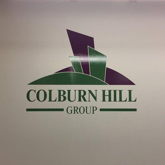 Colburn Hill Wall Vinyl Wrap Interior Commercial Signage