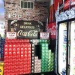 Loudon Mart coke and brick sign