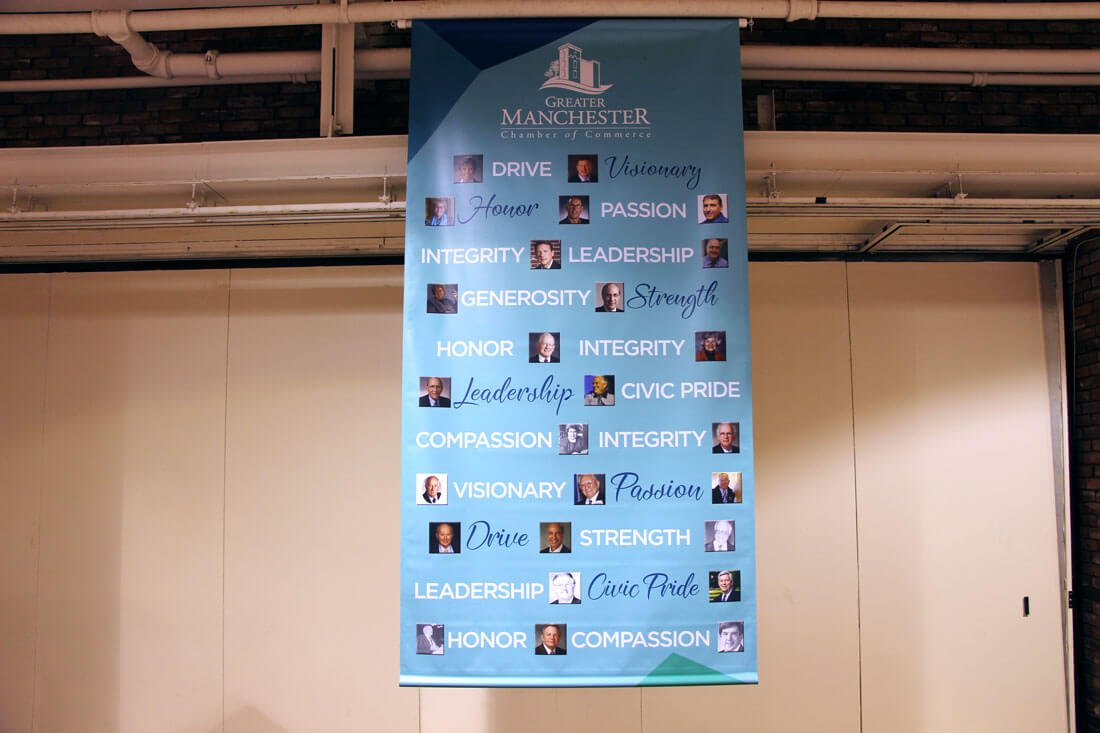 Word Collage Greater Manchester Chamber of Commerce Citizen of the Year Word Collage Banner