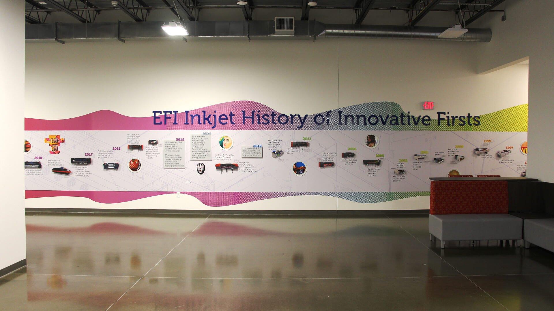 EFI Reception sign