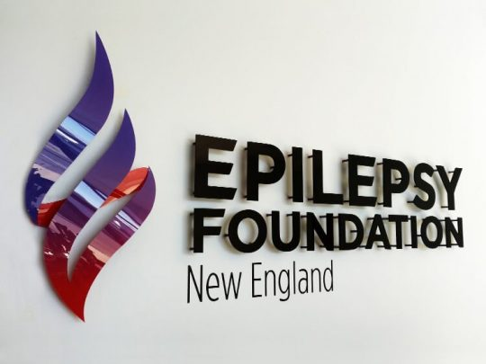 Epilepsy Foundation lobby sign