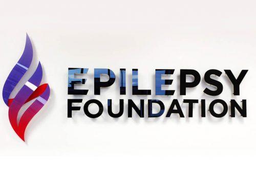 Signage Products - Epilepsy Foundation Reception Sign