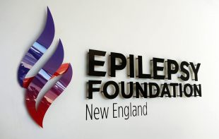 epilepsy foundation sign installation reception logo