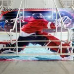 Essex Hockey Stairs Wall Graphics