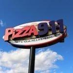 Pizza 911 Exterior Pylon Sign