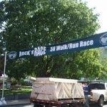 Rock N' Race Vinyl Banner Exterior Commercial Signage
