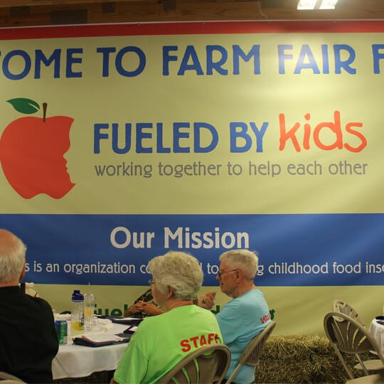 Fueled By Kids Event Signage - Vinyl Banner