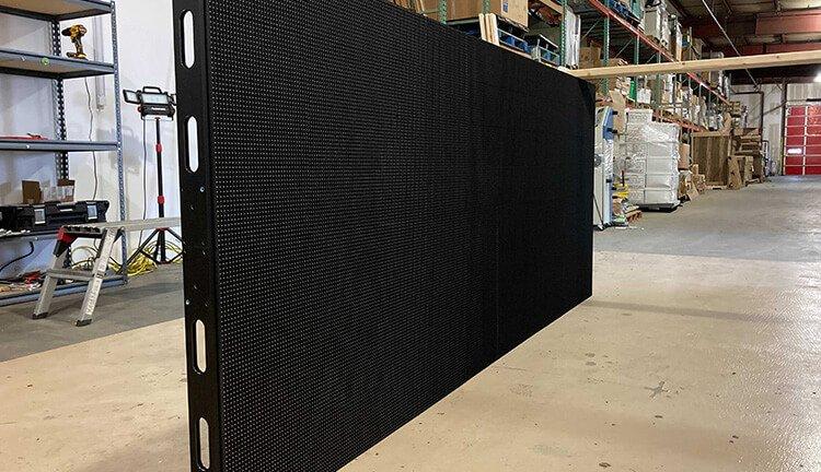 Cross Insurance LED modular panels full wall