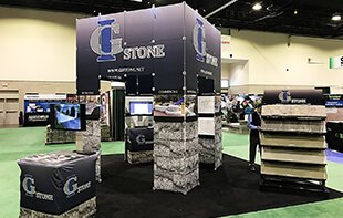 GI Stone Show Booth