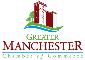 Greater Manchester Chamber of Commerce vertical logo
