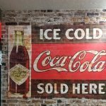Loudon Mart Coke and Brick interior retail signage