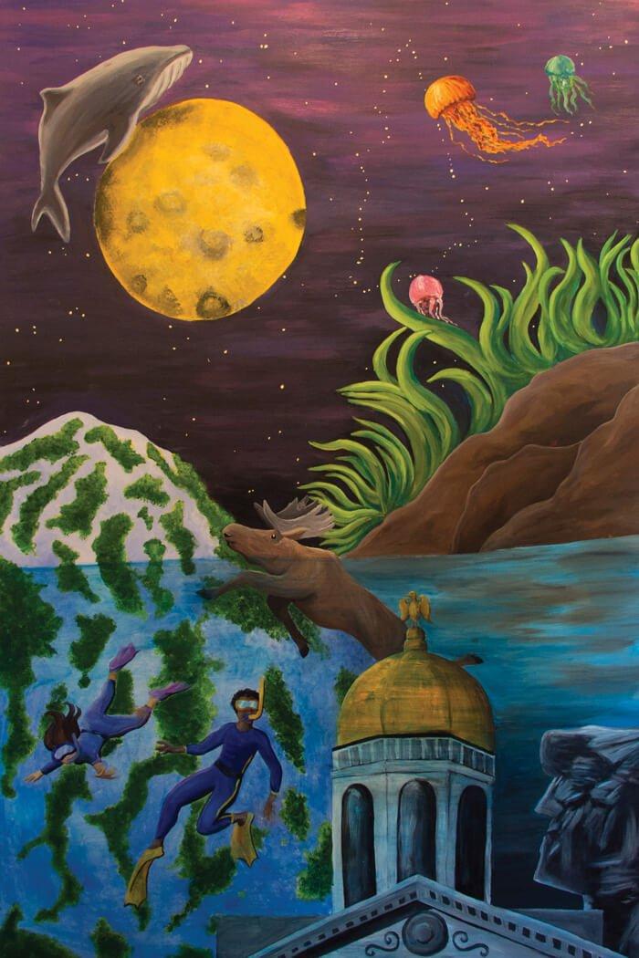 Kimball Jenkins Mural Print
