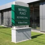 Merrill Place Plymouth State Pylon Exterior Commercial Signage