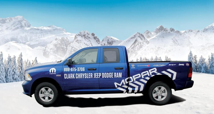 Mopar Pickup Truck Vehicle Wrap