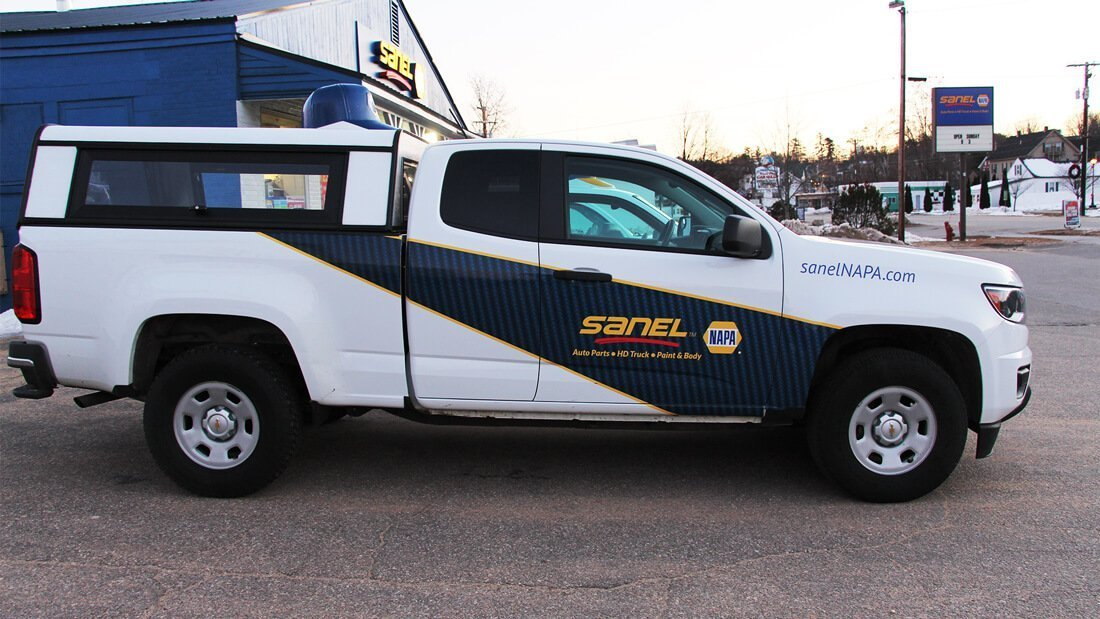 Sanel NAPA Vehicle wrap