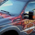 harely davidson nashua vehicle wrap
