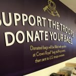 Support the Troops Crown Royal NH Liquor Store Interior Decorative Sign