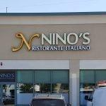 Nino's Ristorante Italiano Exterior Retail Signage Custom Cut Signs