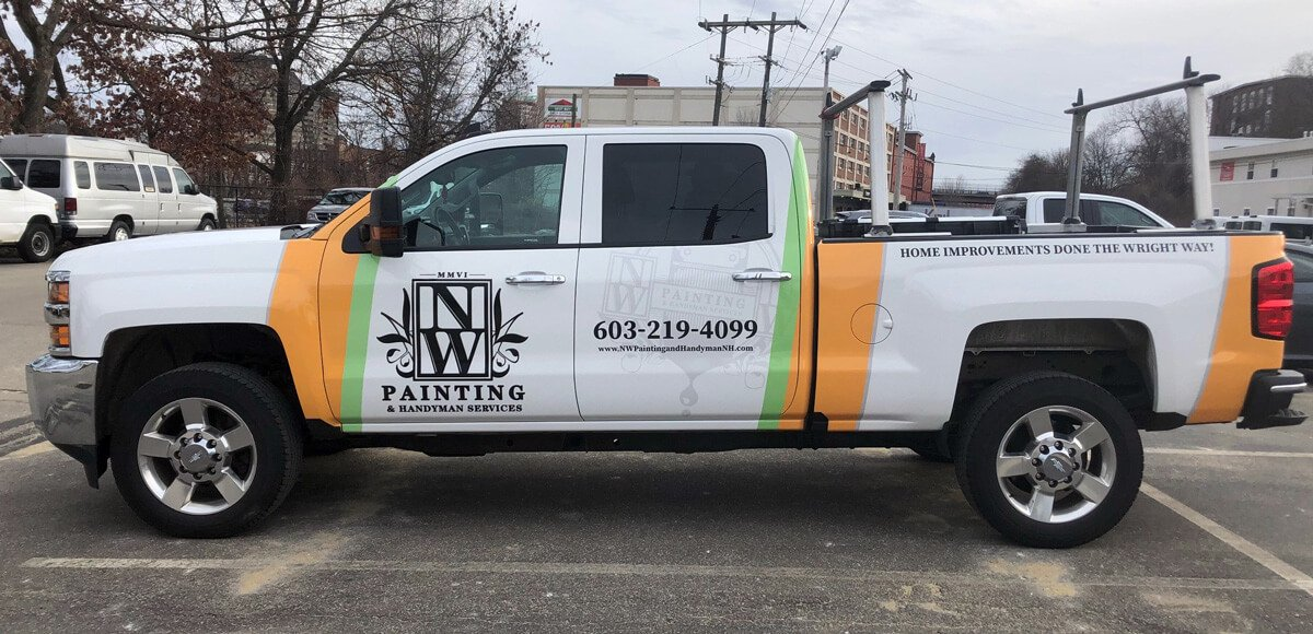 NW Painting Vehicle Wrap Driver side