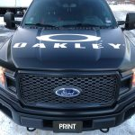 Oakley Front Vehicle Wrap