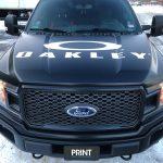 Oakley Front Vehicle Wrap