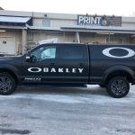Oakley Left Side Vehicle Wrap
