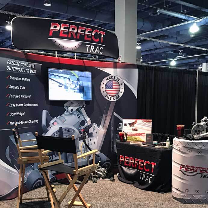 trade show exhibit booth