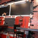 Pizza 911 South Willow Street Manchester NH Interior Decorative Wall Graphic