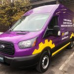 Planet Fitness Vehicle Wrap