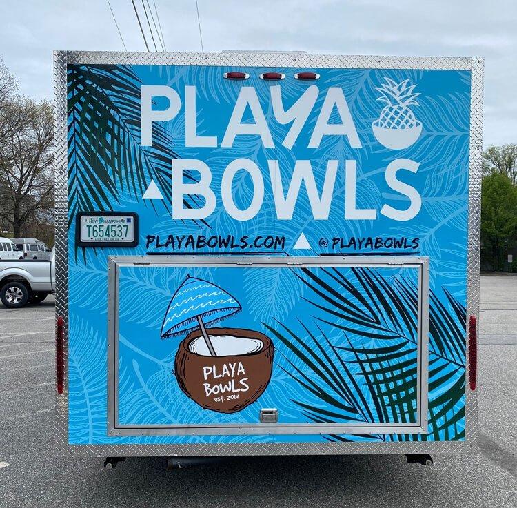 Playa Bowls After Wrap Back