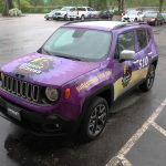 Planet Fitness Jeep Vinyl Vehicle Wrap