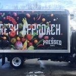 Pressed Cafe vehicle wrap