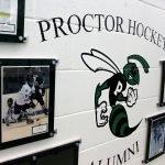Proctor Hockey Alumni signage