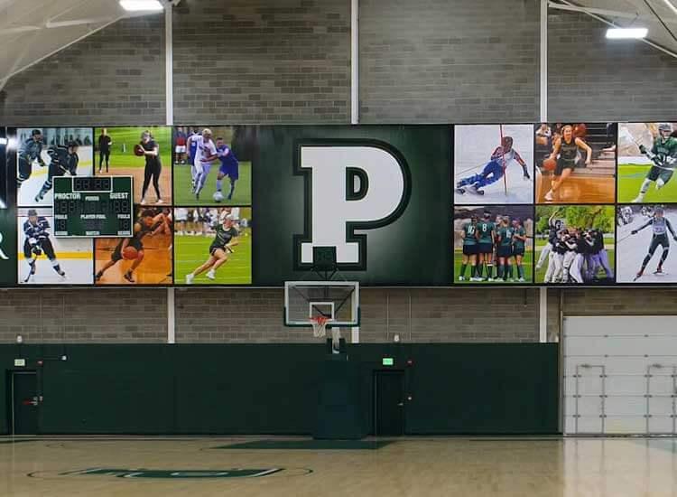 Proctor Academy Vinyl Banner