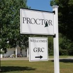 Proctor Academy wayfinding signage