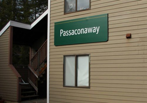 Plymouth State University Passaconaway Educational and Campus Wayfinding Signage
