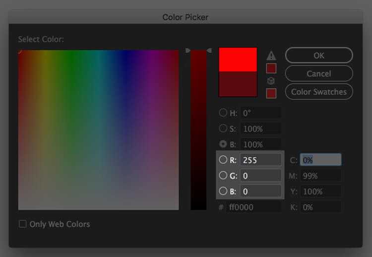 RGB Color Space Values what is color matching
