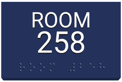 Room ADA Sign
