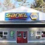 Exterior Retail Signage - Channel Letters SANEL NAPA