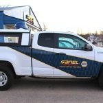 Pickup Truck Wrap fro Sanel NAPA